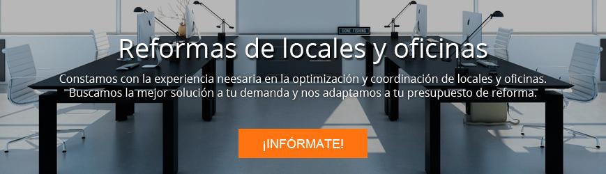 Contacta con Adapta Reforma para reformas para franquicias, locales y oficinas